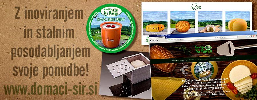 Z inovativnim prilagajanjem svoje ponudbe lahko izboljšamo prodajo! Ponudba kmetije danes.